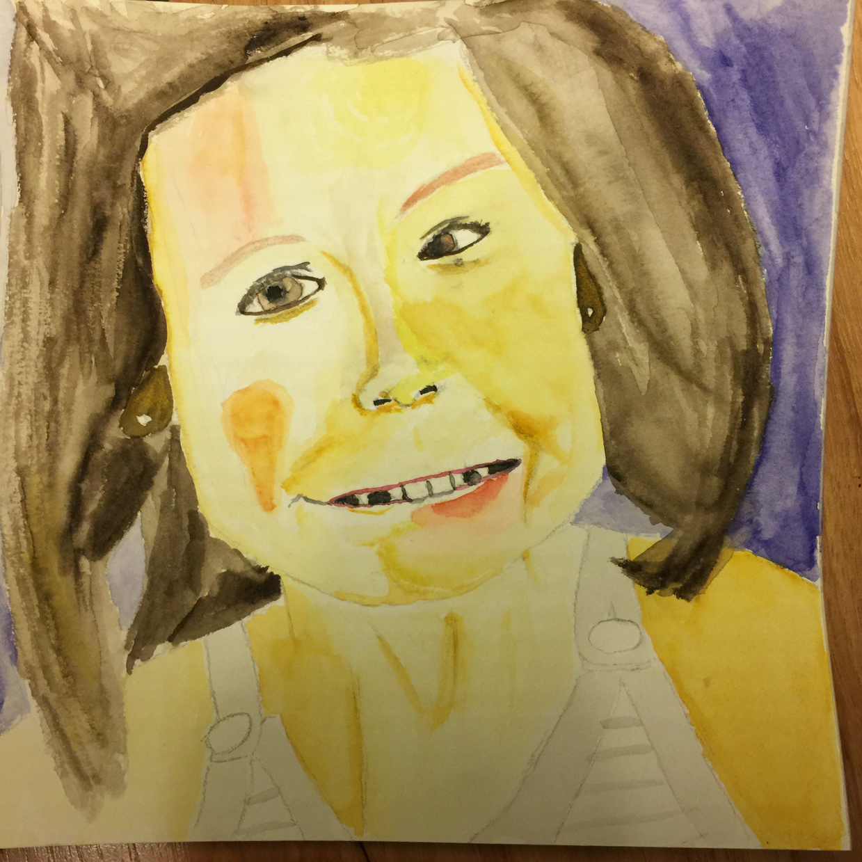A Watercolor of Emma