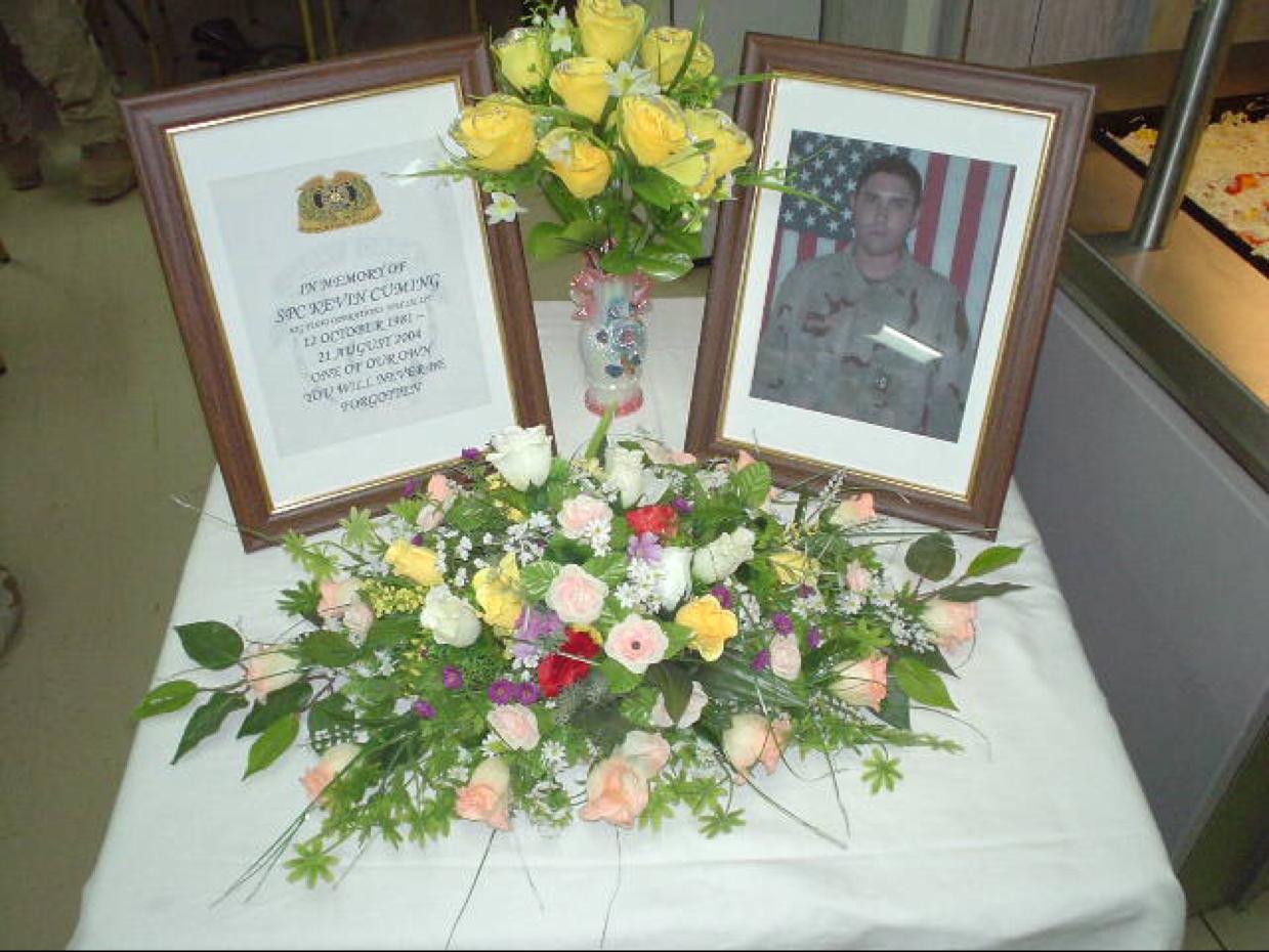 PFC Cuming Memorial